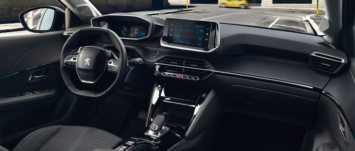 All New 208 Interior