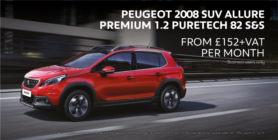 Peugeot 2008 Business Offer