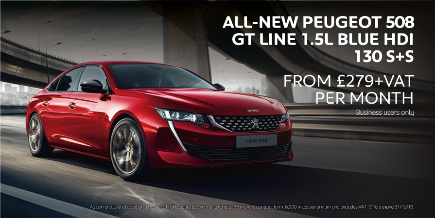 Peugeot 508 Business Offer
