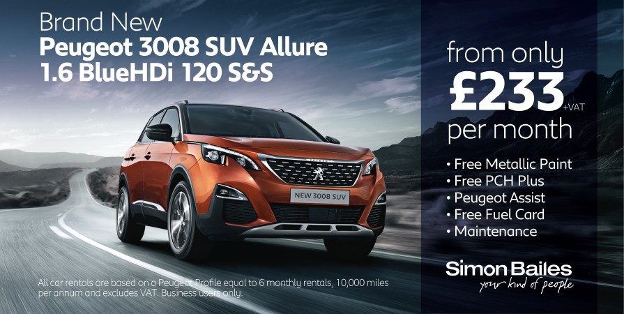 Peugeot 3008 SUV Business