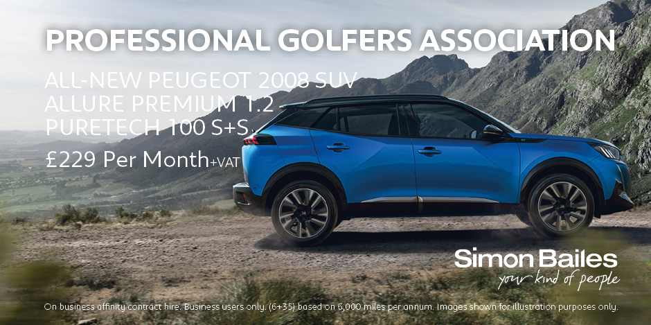 Professional Golfers Association Peugeot 2008 SUV Affinity