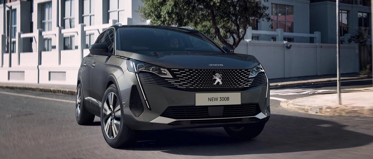 New Peugeot 3008 SUV - Front