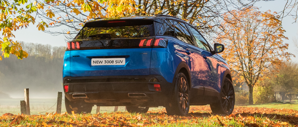 New Peugeot 3008 SUV - Rear