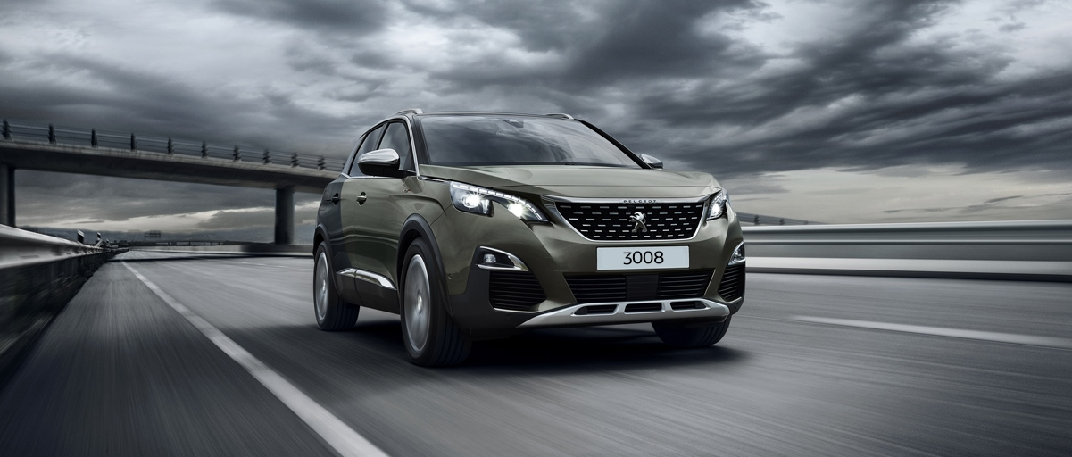 Peugeot 3008 SUV Front