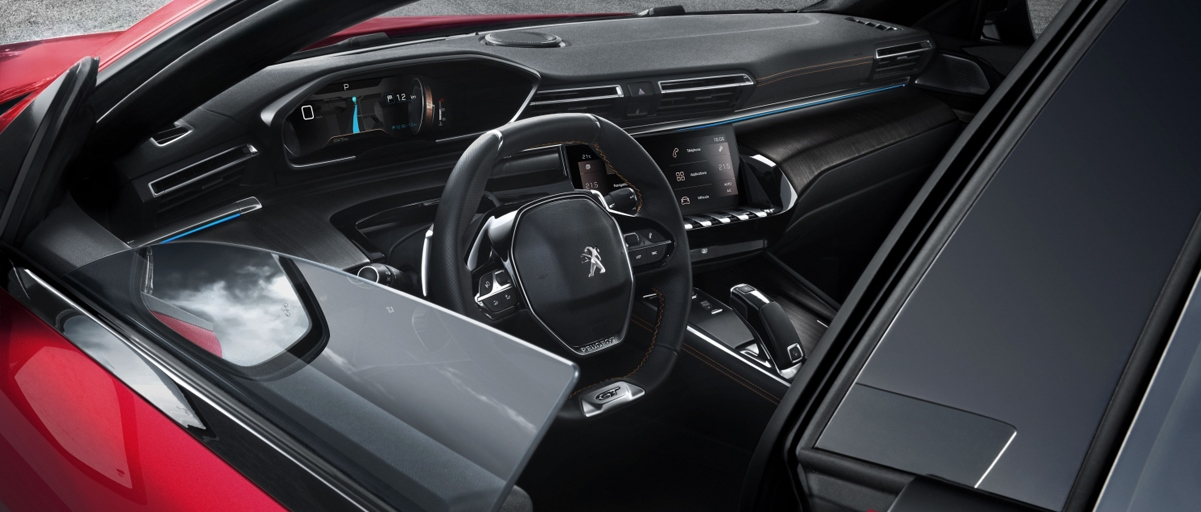 Peugeot 508 Windows