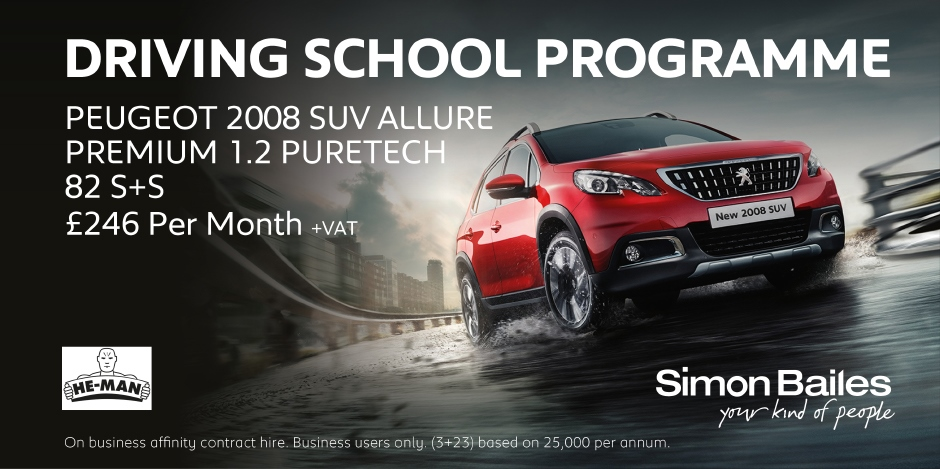 Driving School Peugeot 2008 SUV Affinity