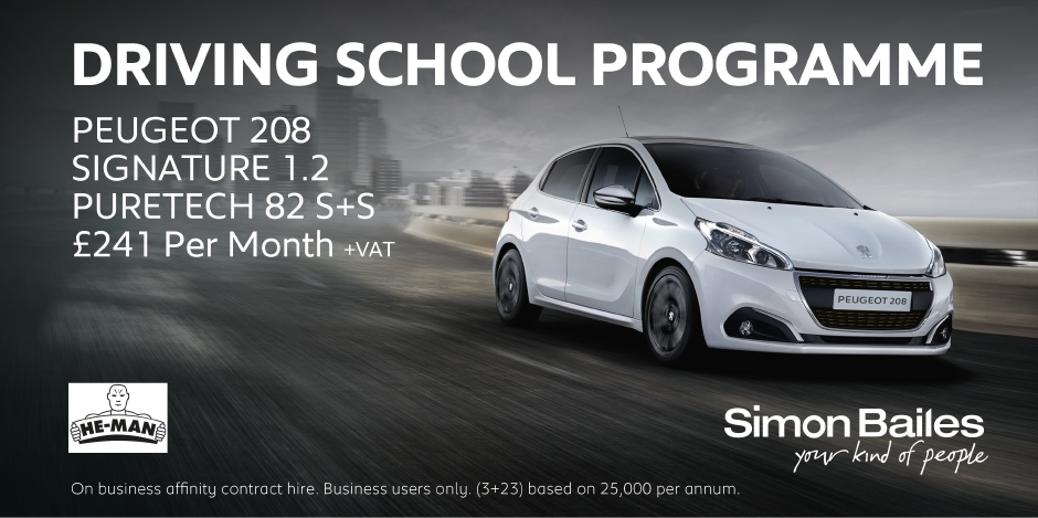 Driving School Peugeot 208 Affinity