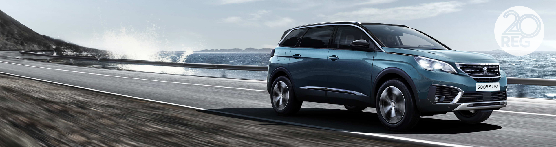 New Peugeot 5008 SUV - 20 Plate