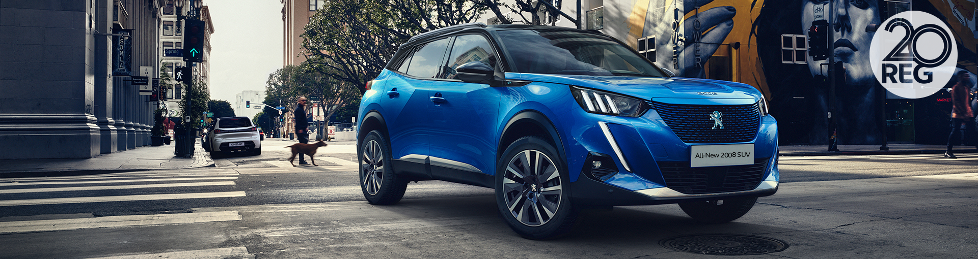 ALL-NEW Peugeot 2008 SUV - 20 Plate