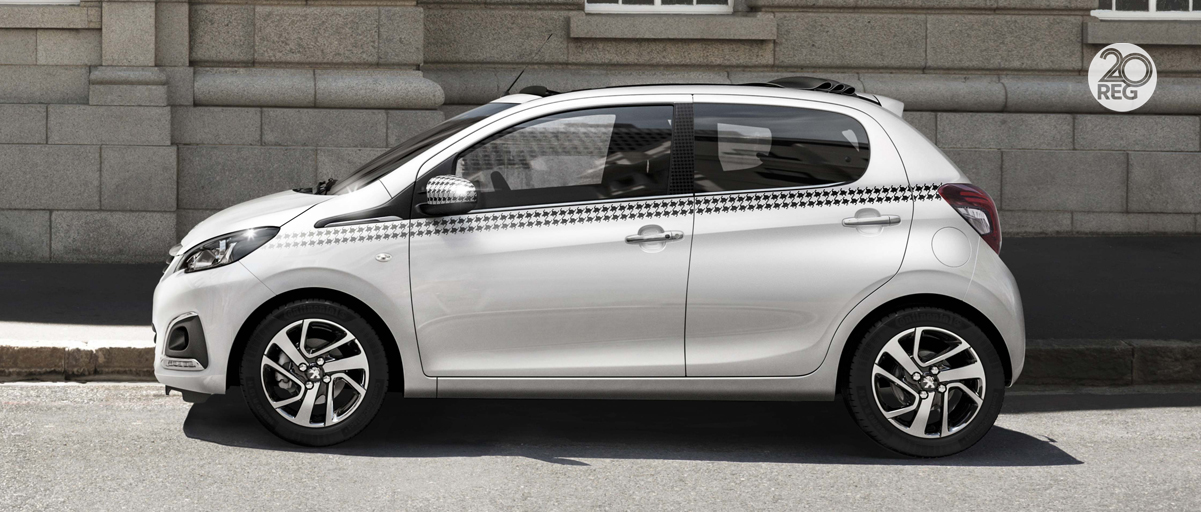 Peugeot 108 Side - March 2020