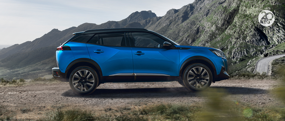 All-New Peugeot 2008 SUV - Side
