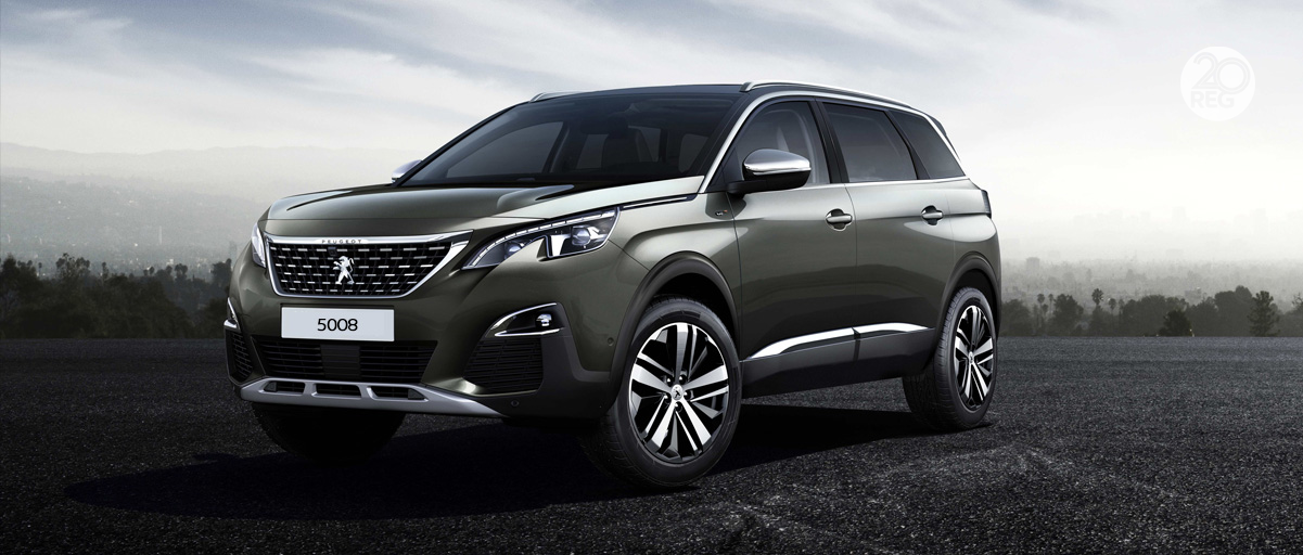 Peugeot 5008 SUV Front