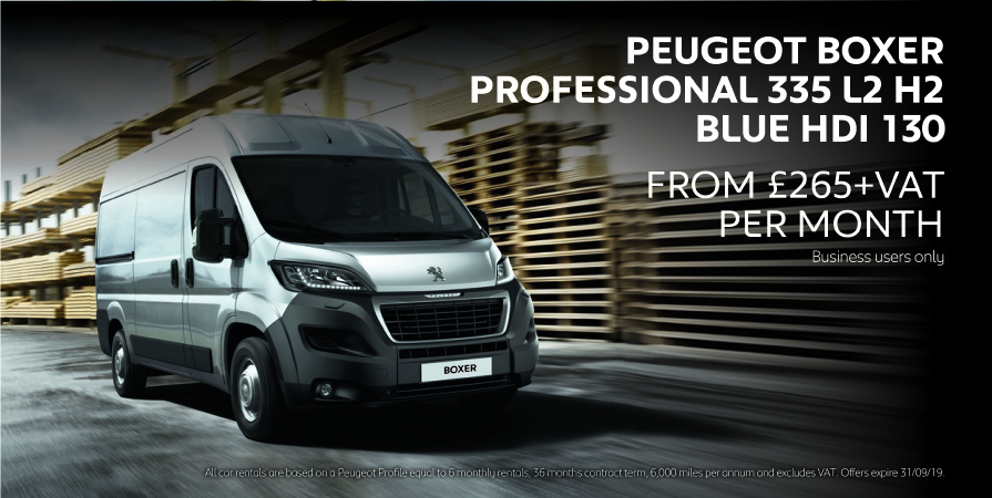 Peugeot Boxer Van Business