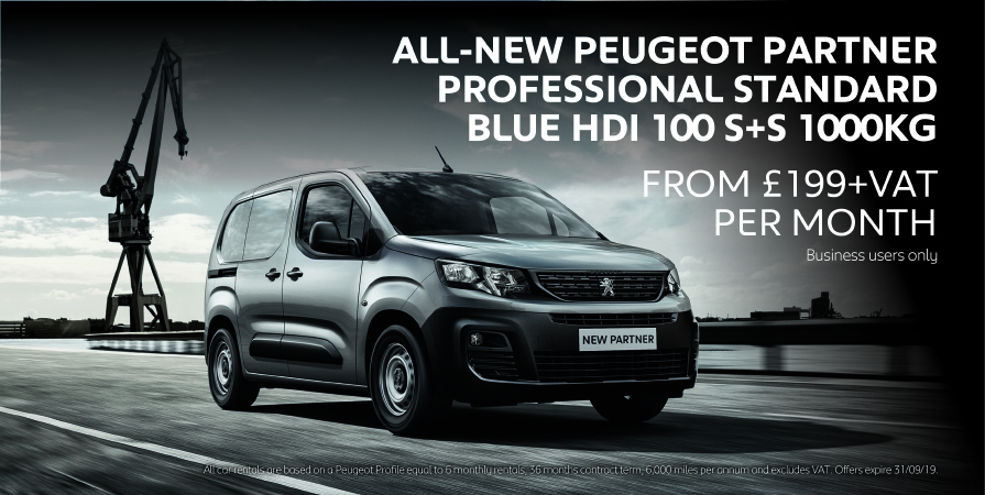 NEW Peugeot Partner Van Business