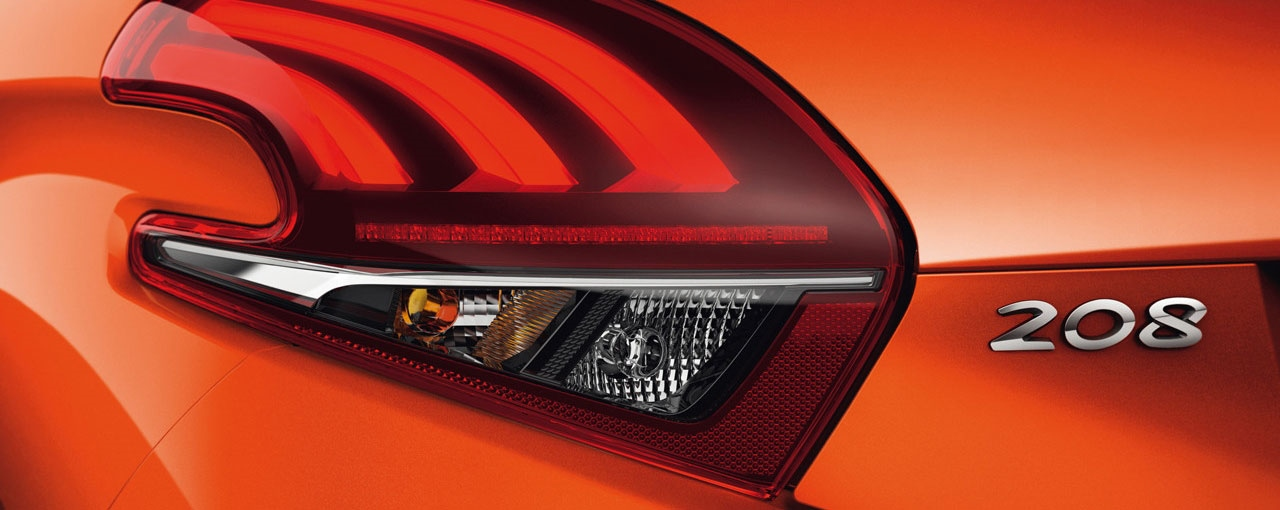 Peugeot 208 Rear Light